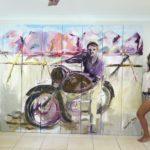Art transforms a room