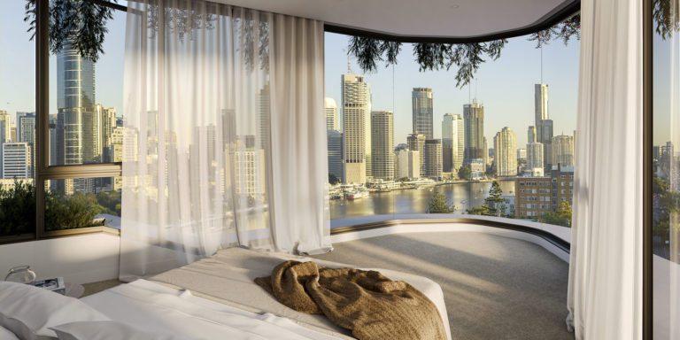 Interstate 'Freedom Changers' Inundate Pikos Property's $200 Million Brisbane Cliff-Top Skye Apartments Development